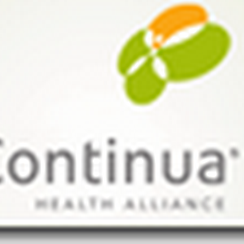 Google PHR and Continua Health Alliance working together with IBM