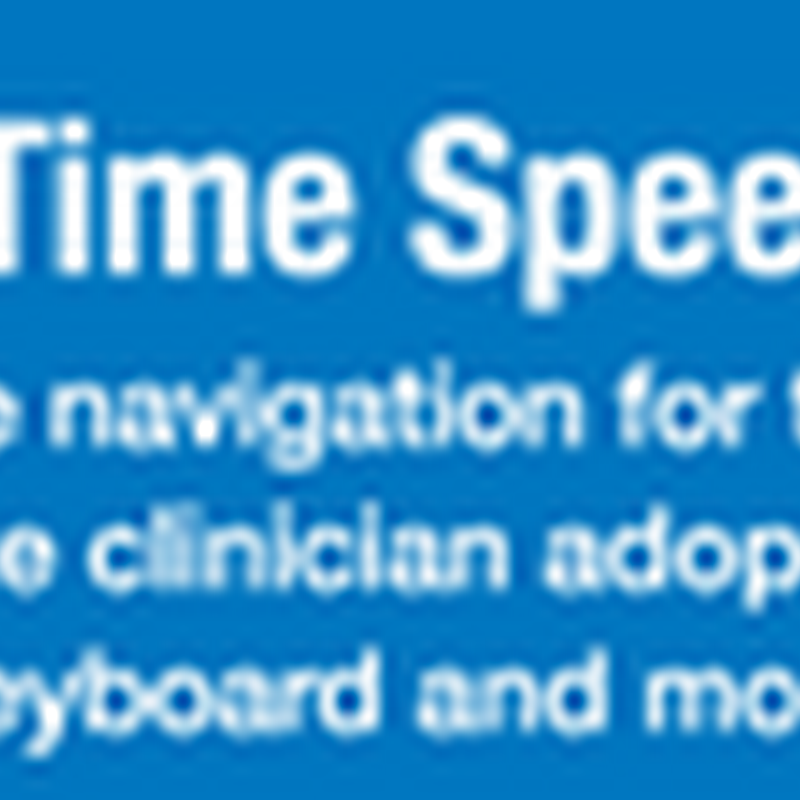 electronic medical records speech White paper speech recognition: accelerating the adoption of electronic medical records.