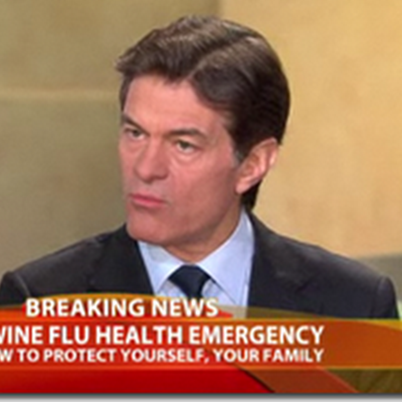 Swine Flu: Dr. Oz Speaks Out and Gives Some Advice and Information