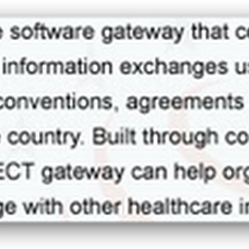 "HHS Sponsoring a ""Code-A-Thon"" to improve the CONNECT Gateway – Health Information Exchange"
