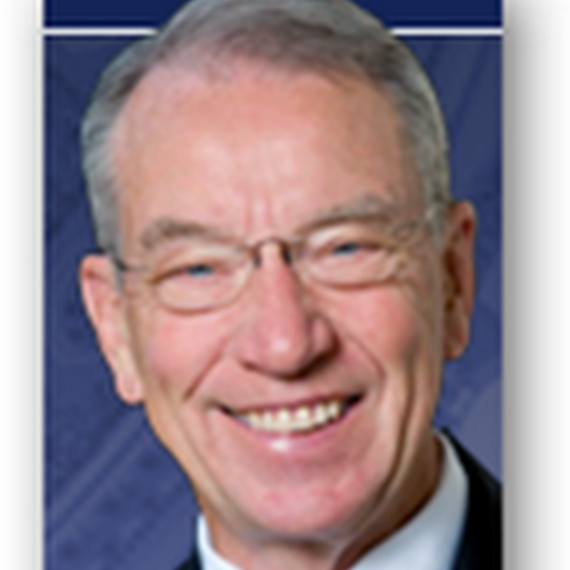 Does Senator Grassley Have a PHR or an EHR That He is Aware of – Can He Read the Healthcare Bill on a Tablet PC or Kindle or Are We Still in the 70s