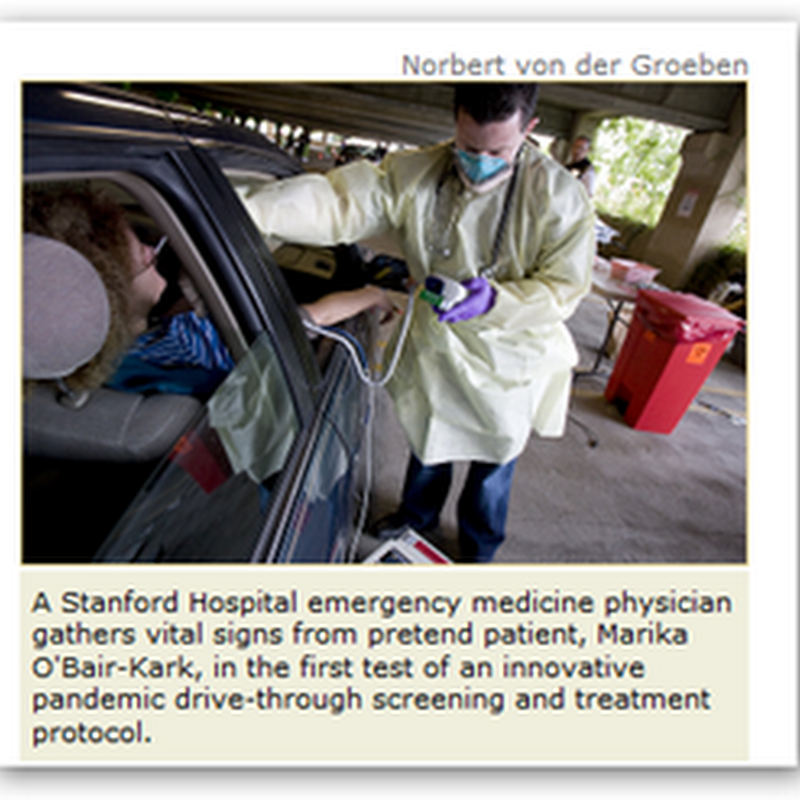 Drive Through Health Care Experiment at Stanford – Keep Patients in Their Cars As Long As you Can