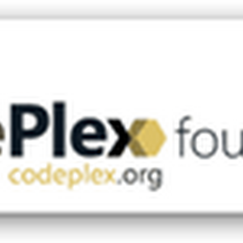 The CodePlex Foundation - New Open-source Non Profit Foundation Funded by Microsoft