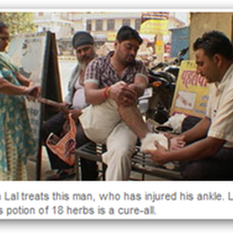 Roadside Street Doctors Are A Thriving Business in India