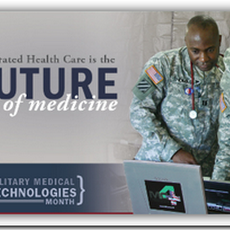Military Medical Technologies Month in November – The Future of Medicine Is Integrated Healthcare