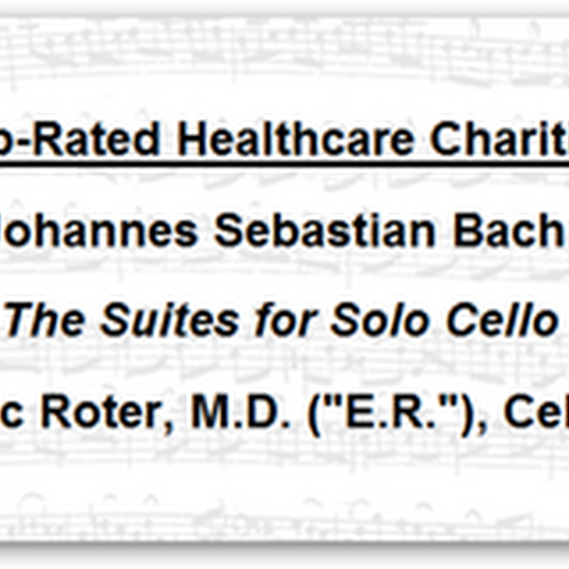 Bach To Health – Kaiser Permanente ER Physician Plays Cello for Charity - Listen and Click to Donate