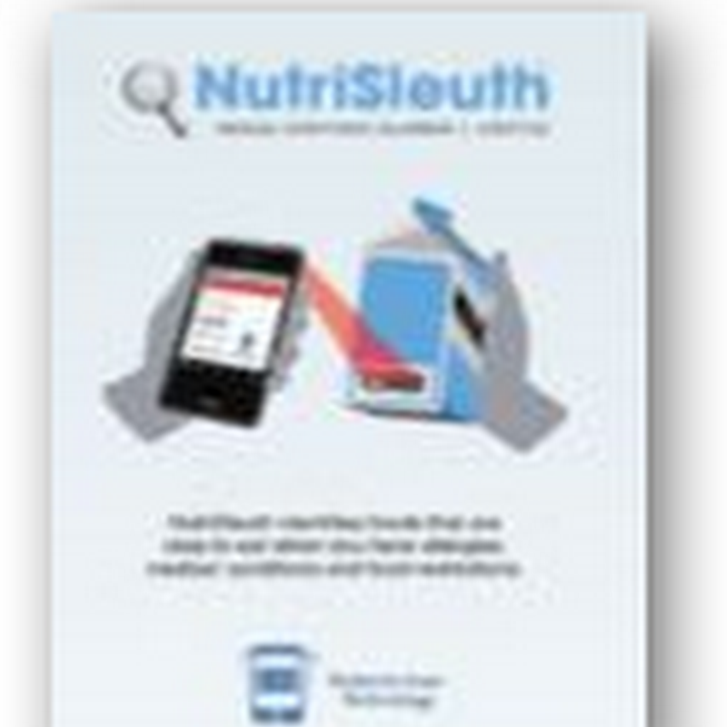 NutriSleuth UPC Barcoding Company Kicks the FDA in Back End When It Comes to Food Safety-Using a Smartphone to Scan for Info