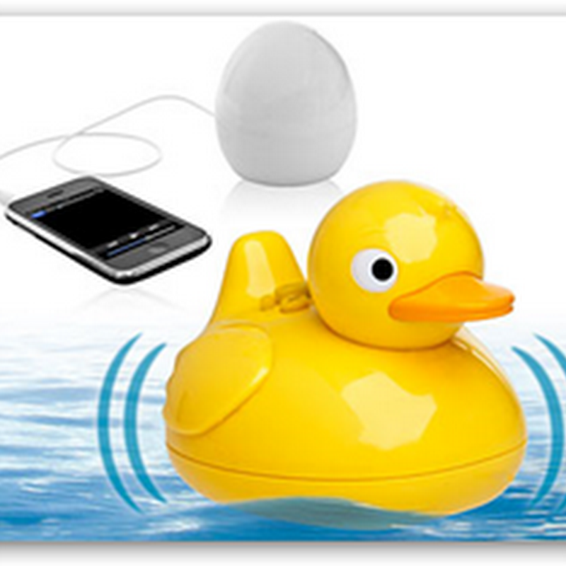 The iDuck Floating Wireless Speaker–This Has To Be A Favorite for the Medical Quack