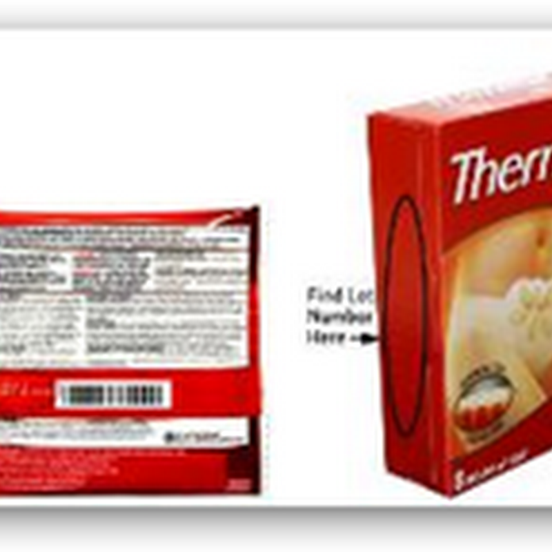 Pfizer Consumer Healthcare Recall of One Lot of ThermaCare HeatWraps Menstrual Product–Get A Better Recall System