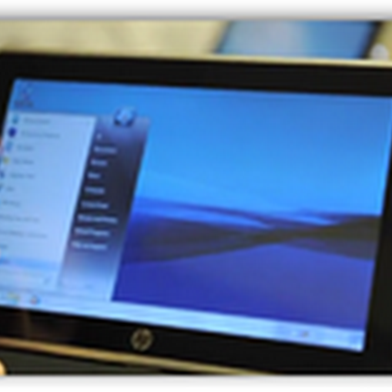 HP Tablet Slate 500 Releases–$799 and Aimed for the Business Client–Windows 7 Pro OS