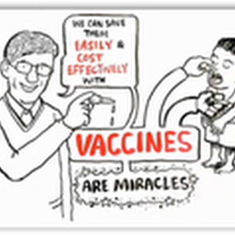 Bill Gates Explains Vaccines on a White Board