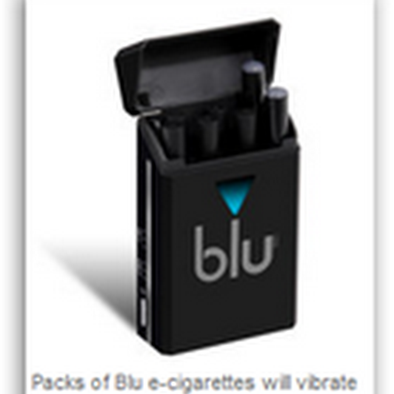 "Strange Social Networking Device for Smokers–E-Cigarette in ""Smart Packs"""