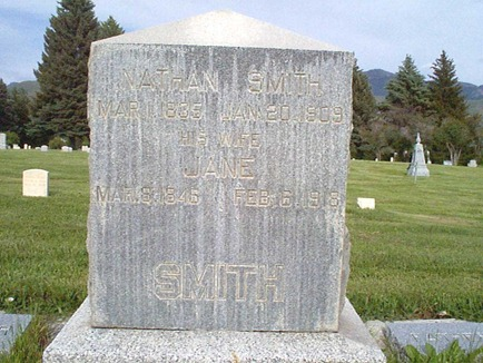 Nathan Smith's Grave