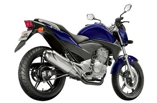 CB 300 R azul