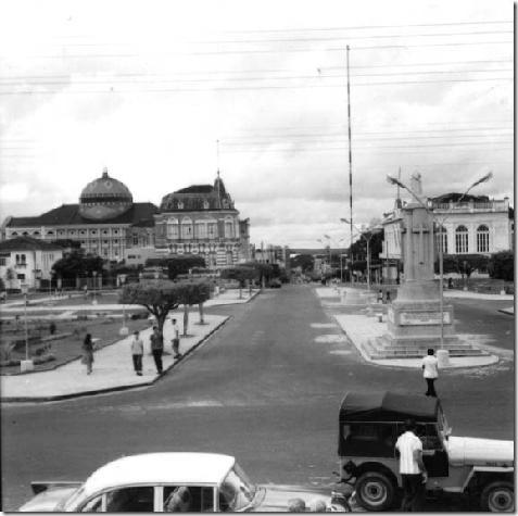 Avenida Eduardo Ribeiro em Manaus (AM