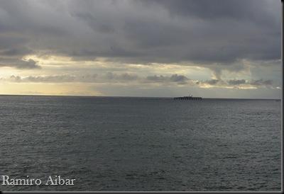 Vista del mar desde el port del Masnou