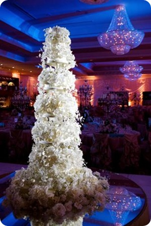 Sylvia Weinstock white cake sugar flowers