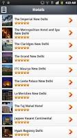 Screenshot of About Delhi