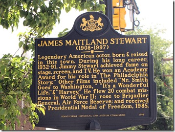 JImmy Stwewart Plaque