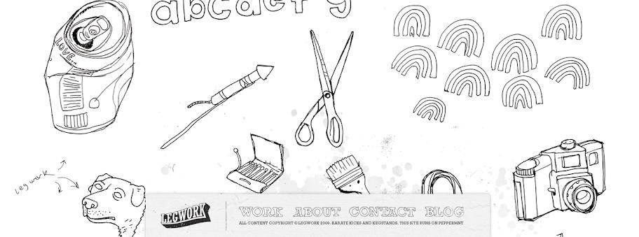 Beautiful Hand Drawn Websites