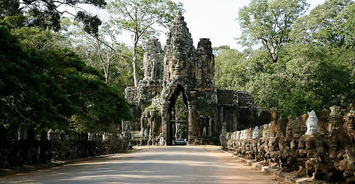 Angkor Thom South Gate - Cambodia