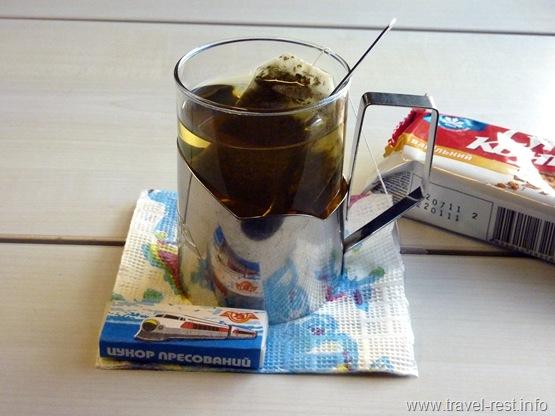 чай в Столичном экспрессе