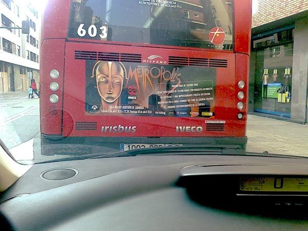 Metropolis bus Zaragoza 2