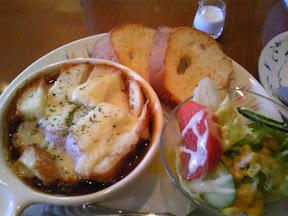 COLORADOのオニオングラタンスープ