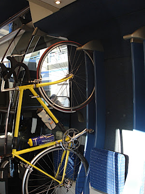 bikes on the TER