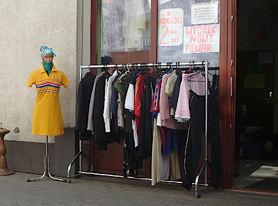 used clothing in Krakow