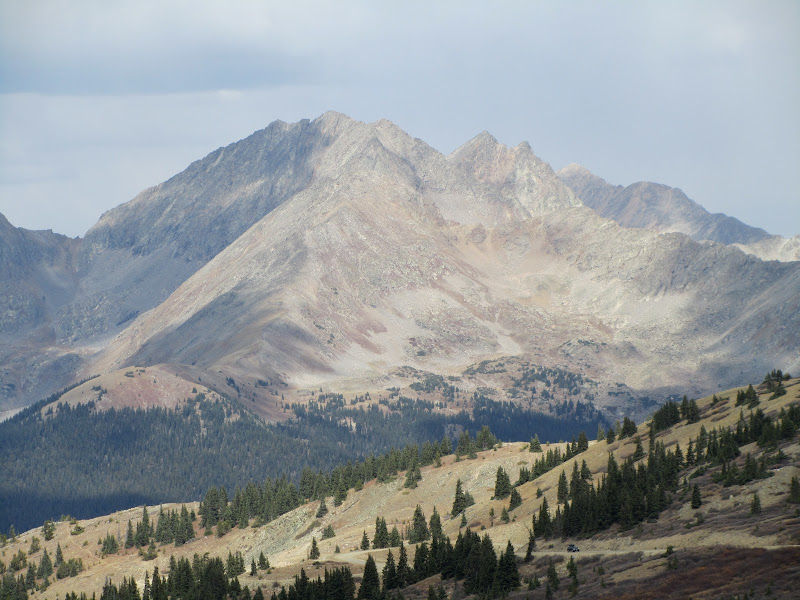 mountain view from cottonwood pass