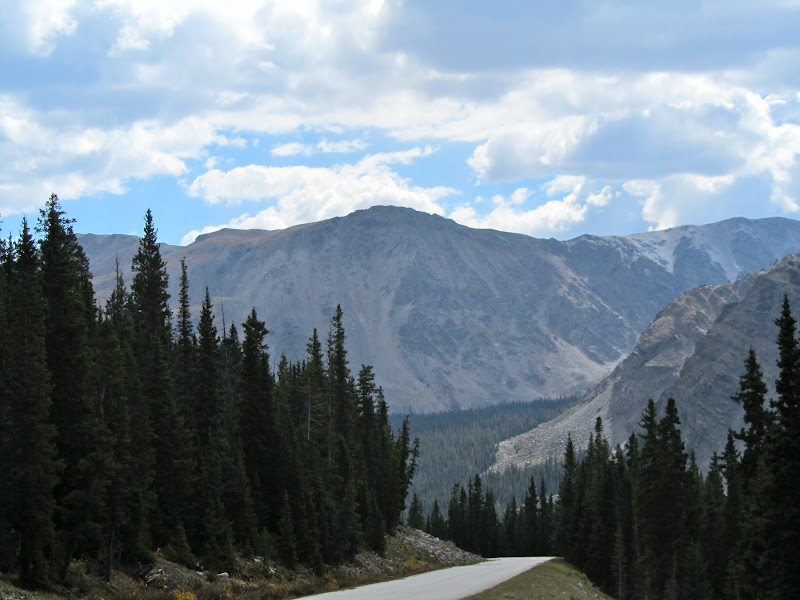 scenic view from cottonwood pass