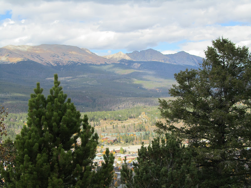 breckenridge from boreas pass