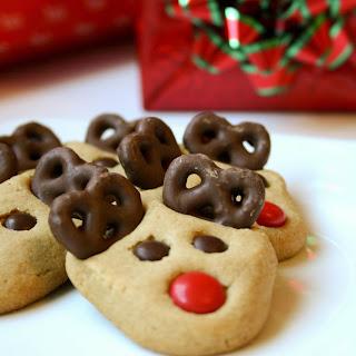 Reindeer Sugar Cookies Pretzel Recipes