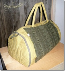 sac a ouvrage beige cannelle