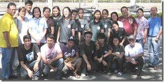 ASU veterinary students with their AQD fish health mentors