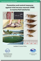 AEM 44 Prevention and control measures against viral nervous necrosis (VNN) in marine fish hatcheries