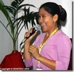 AQD Senior Technical Assistant Ms. Dianne Hope Tormon