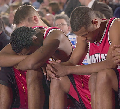 Our third loss to Duke in 2001