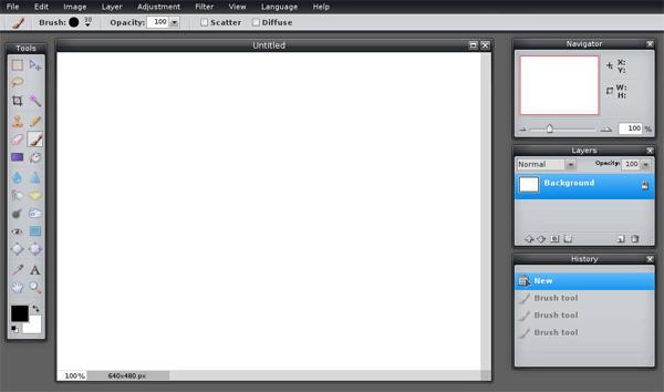 онлайн графический редактор