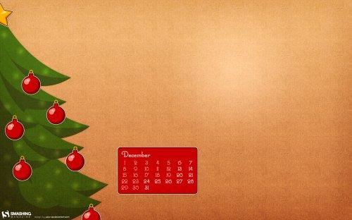 рождественская елка обои