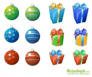 новый год картинки подарки игрушки
