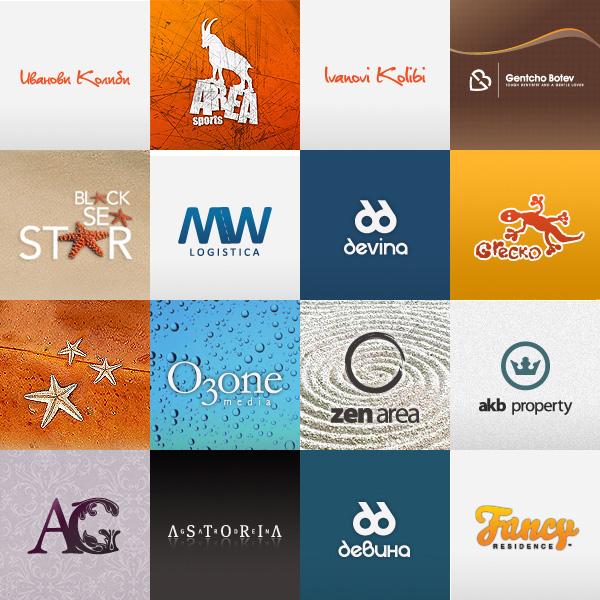 красивые и креативные логотипы