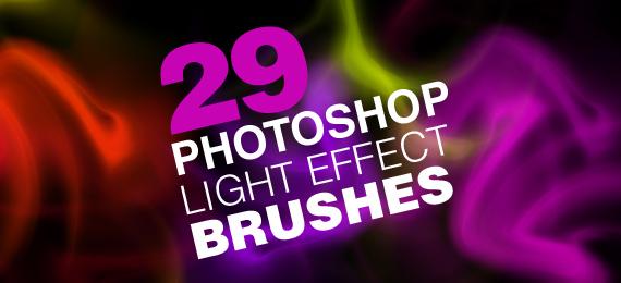 световой эффект фотошоп