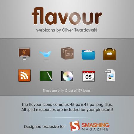 PSD иконки для сайта