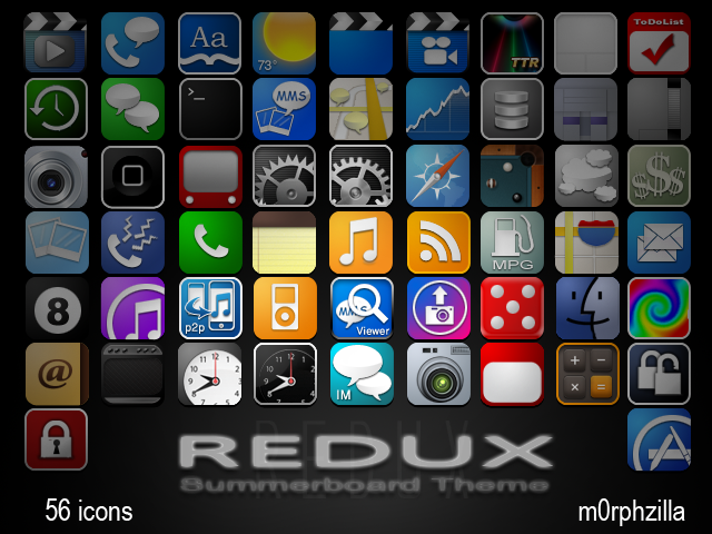 iphone icons иконки