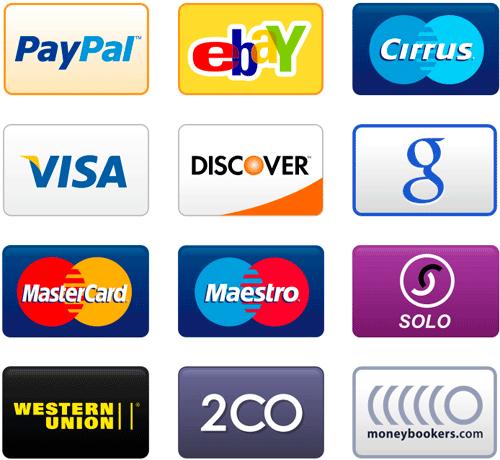 платежные системы иконки