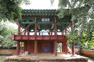 Cheongdo Hyanggyo sarakru (tower pavilion) 01