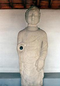Uiseong Standing Stone Buddha Statue Jeongandong