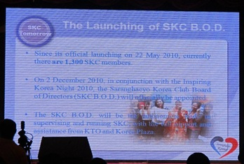 Launching of SKC Board of Directors